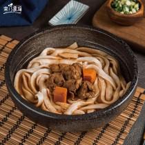 【樂乃農場】素食紅燒牛肉刀削麵 (750g/包,全素)