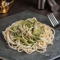 【樂乃農場】義大利麵 - 青醬燻雞 (400g/包)