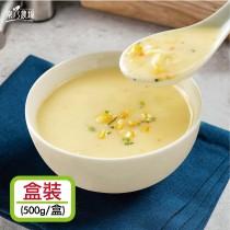 【樂乃農場】奶油玉米濃湯 (濃縮盒裝 500g/盒)