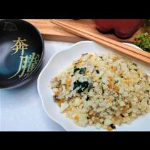 薑汁麻油白花菜米(蛋素)